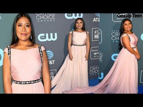 Yalitza Aparicio Luce Vestido De Prada En Los Critics Choice Awards