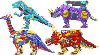 16 Kinds of War Robot Dino & Beast | Eftsei Gaming