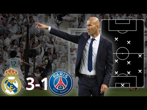 REAL MADRID 3-1 PSG | HOW ZIDANE BEAT PSG | TACTICAL ANALYSIS