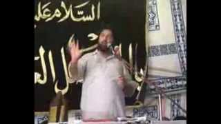 Ali iss Qalab sae Shokat Raza Shokat  majlis 1oct 2013 Darbar Gohar shah Jhang