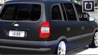 GTA V - Vida Real : UBER #09 / Chevrolet Zafira