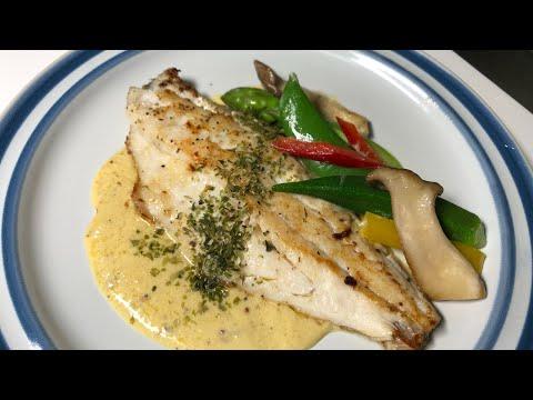 Fish With Mustard Cream Sauce/ How To Make Fish Stock