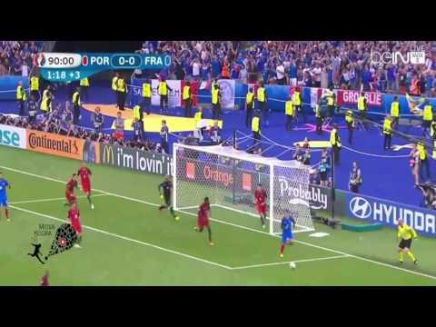 ملخص مباراة البرتغال وفرنسا 1 0 كامل تعليق عصام الشوالي   نهائي يورو 2016 بفرنسا 10 7 2016 HD