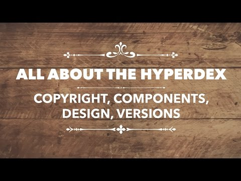 All about the Hyperdex - Copyright | Components | Design | Versions