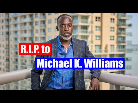 Michael K. Williams: Just Say No to Drugs