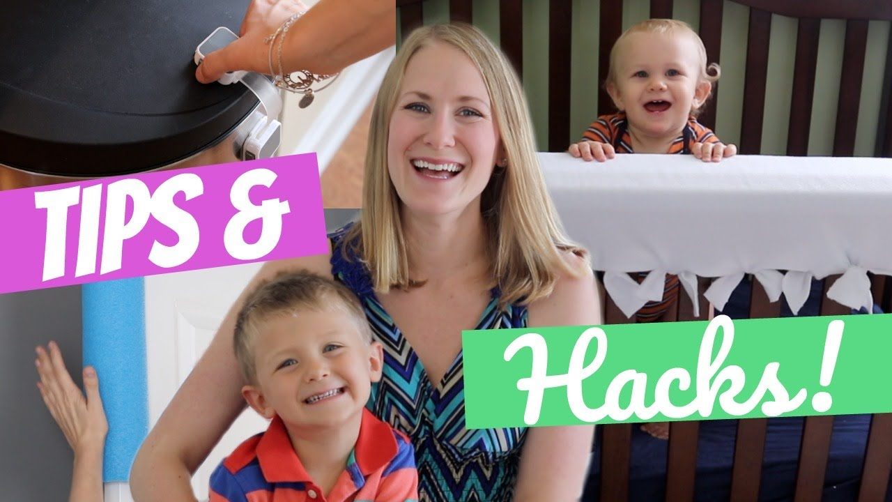 organized with baby tips hacks to baby proof your home