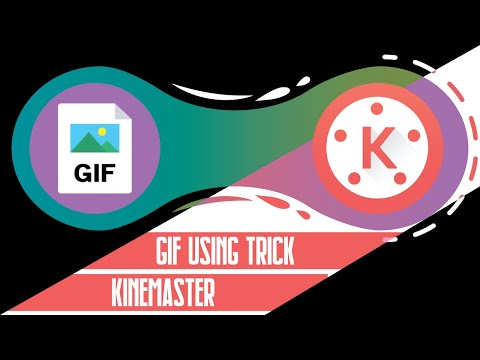 Kinemaster GIF Nor Working (SOLUTION) | How To Support Gif On Video By Kinemaster Trick