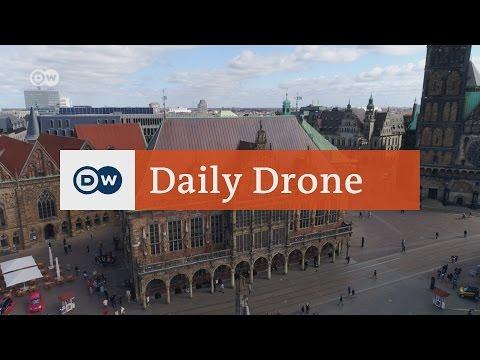#DailyDrone: Bremen Town Hall | DW English