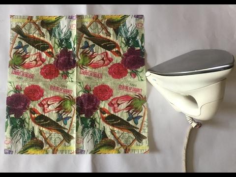 Paper Napkin Transfer