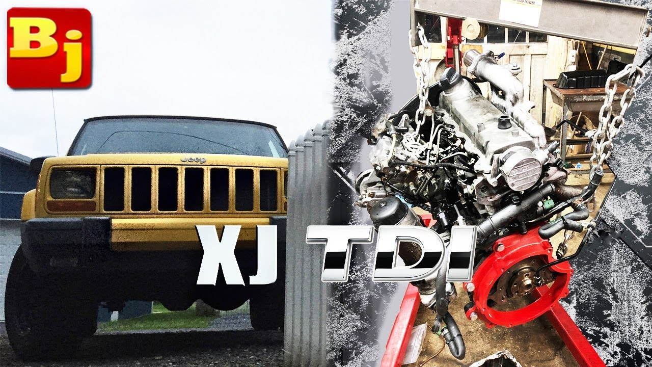How can a 1.9L replace a 4.0!? Step By Step TDI Swap - Part 1 Jeep Wiring Harness Swap on vintage vw wiring harness, jeep 4.2 engine diagram, jeep yj wiring harness, jeep tow bar wiring harness, jeep cherokee wiring harness, jeep cherokee engine diagram, jeep grand cherokee wiring diagram, jeep cherokee fuel pressure regulator, jeep xj wiring harness, jeep 42re transmission, jeep wiring harness kit, jeep cj7 wiring-diagram, ford 4.0 wiring harness, 97 jeep wiring harness, jeep wrangler wiring harness, jeep cj5 wiring-diagram, jeep cj7 wiring harness, jeep cherokee alternator wiring diagram, jeep cj5 wiring harness, jeep cj5 ignition wiring,