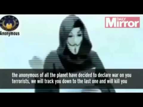 Charlie Hebdo: Anonymous declares 'war' on jihadists in retaliation for Paris massacre