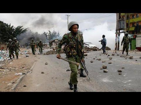 Kenyan police employed assault and rape during polls - HRW