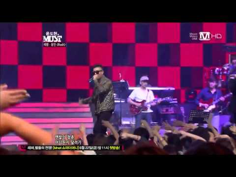 [Live] LeeSSang (리쌍) - Rush (feat. Jung In) [120602]