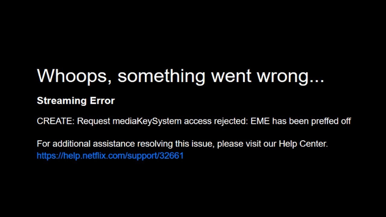 [Solved ] Firefox Netflix DRM Error | Whoops Something Went Wrong