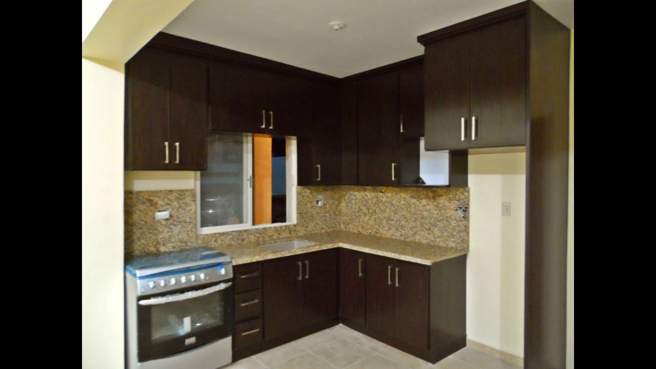 Plastic kitchen cabinets with granite top youtube for Modelos de gabinetes de cocina