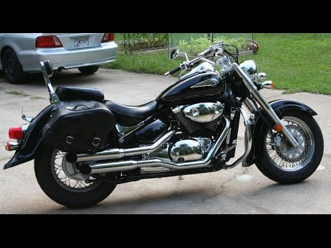 suzuki intruder volusia 800 exhaust sound compilation. Black Bedroom Furniture Sets. Home Design Ideas
