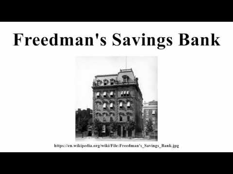 Freedman's Savings Bank