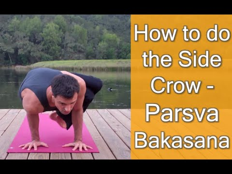 how to do side crow  parsva bakasana  made easy  youtube