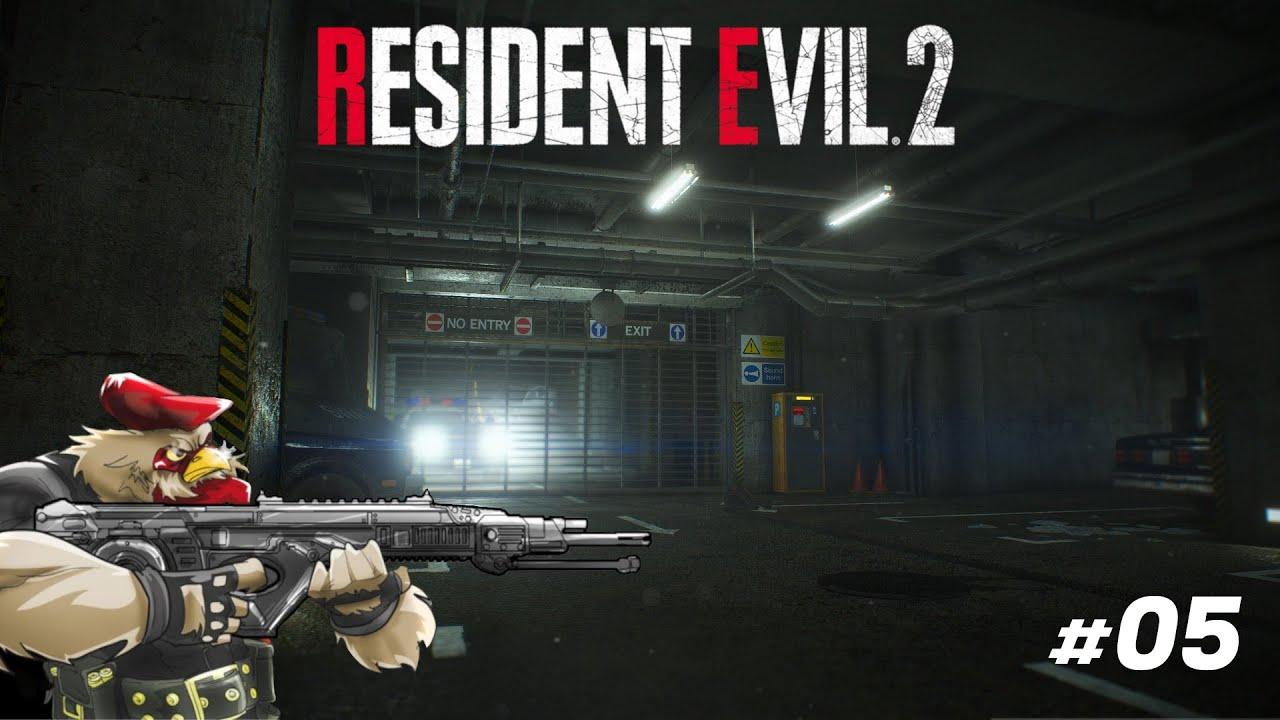 RESIDENT EVIL 2 (REMAKE) - Consegui o 3º Medalhão - #05 Gameplay Pt-Br - Frango Doido