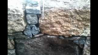 stone dry wall,kamenná zed na