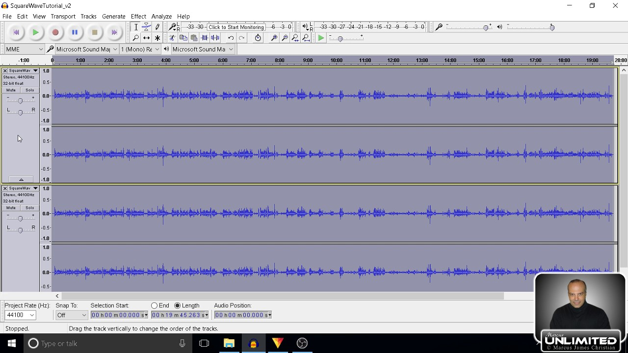 Audacity Tutorial How To Extract Audio From Mp4 Videos, Edit And Replace  Original Soundtrack!