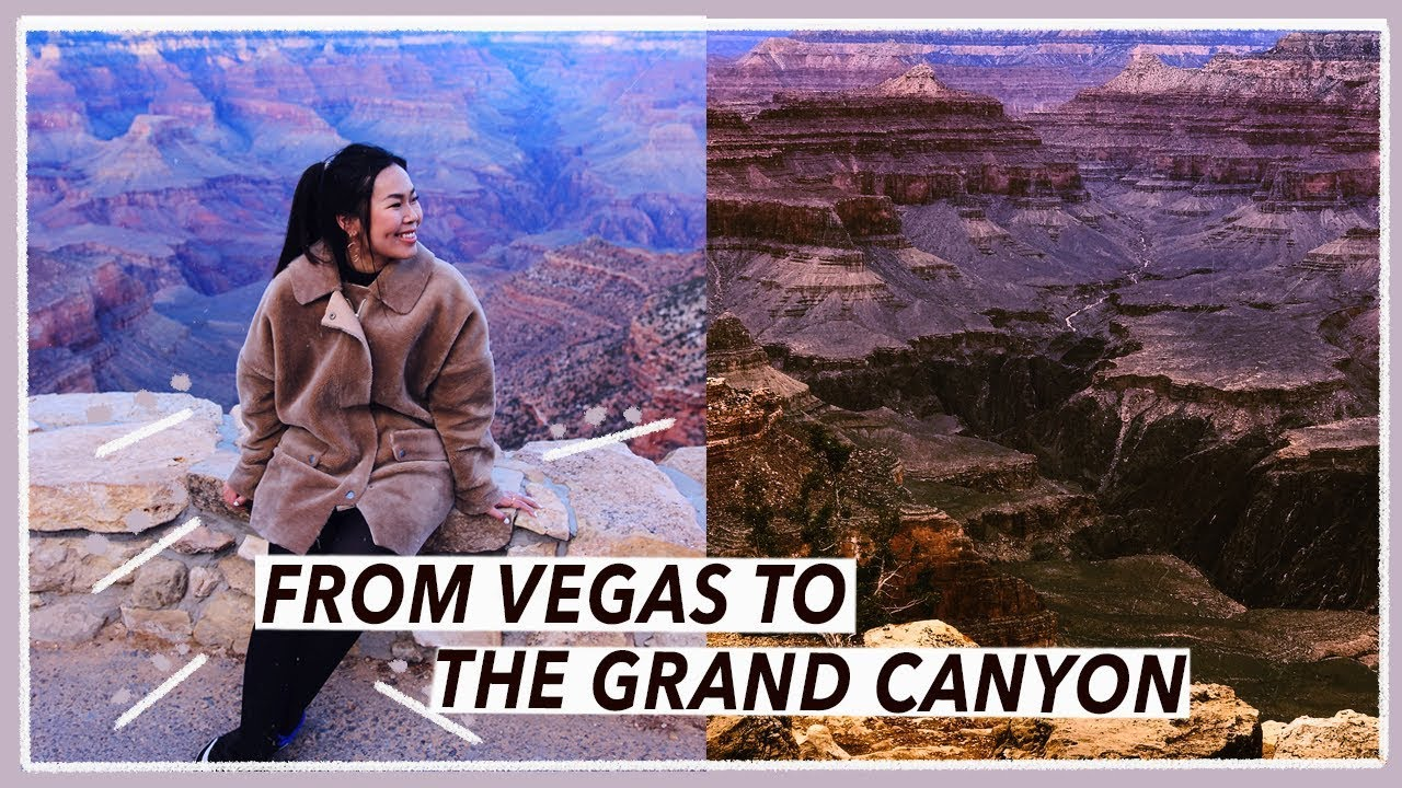 15 Hour Day Trip to Grand Canyon | Las Vegas Travel Vlog