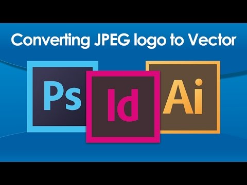 Design Tutorial: Converting JPEG logo to Vector in Illustrator CS6