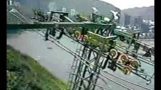 香港仔:海洋公園 吊車 Cable Car at Ocean Park, Aberdeen