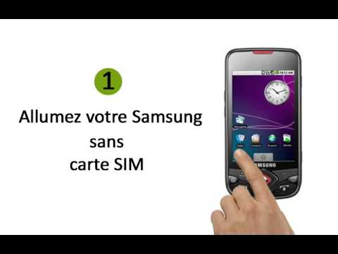deblocage d`un téléphone portable Samsung I5700 Galaxy Spica