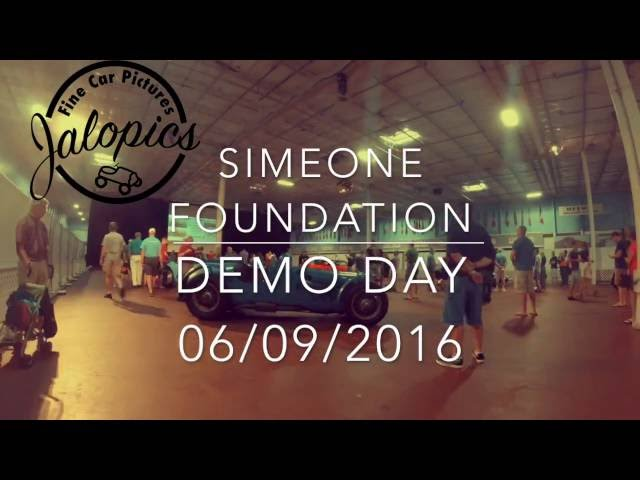 Simeone Foundation Demo Day Engine Sounds - Bugatti, Porsche, Shelby