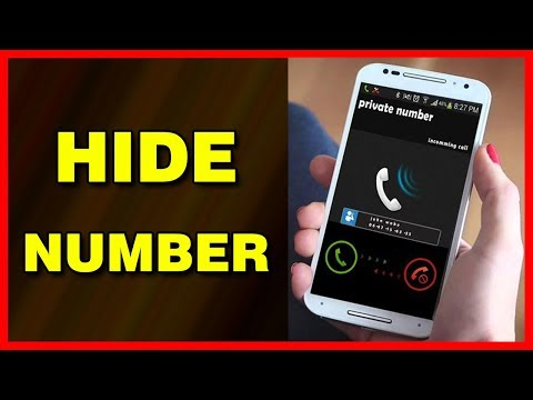 How To Hide Your Caller ID / Number On Android (2019)