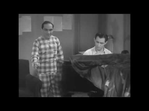 Richard Rodgers and Lorenz Hart at work 1929