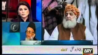 Syed Munawar Hasan Response To Maulana Fazlurehman Statement - 22 Oct 2011