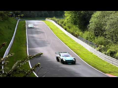 Nurburgring 24 Hours 2012 - Lead cars racing
