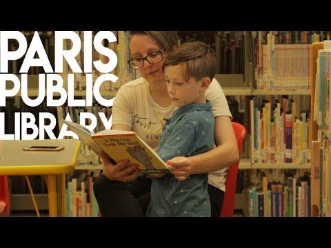Paris Public Library 📚  📖  🤓