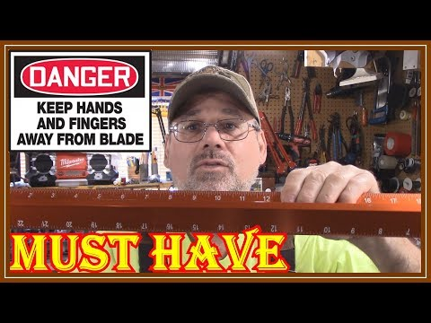 Safety Straight Edge – Swanson Tool SVE240 24-Inch Savage Sure Grip Review.