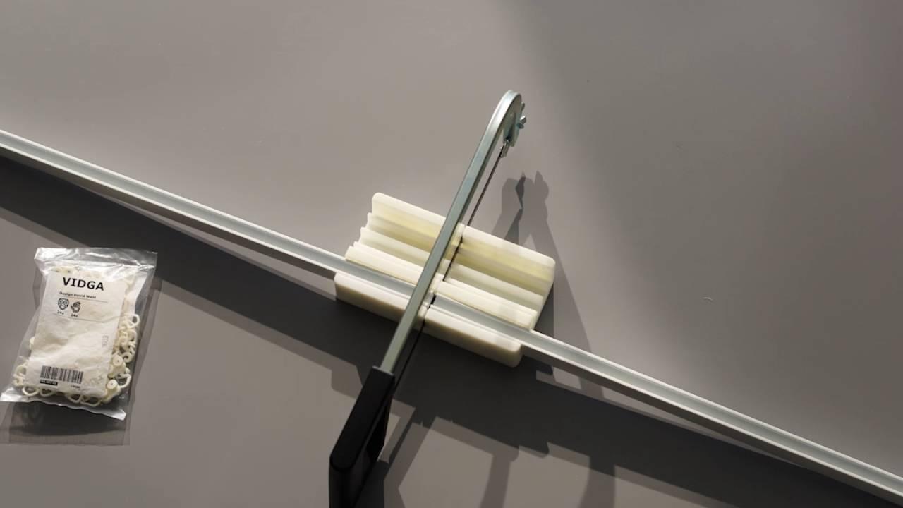 Ikea Gardinen Aufhängesystem ~ IKEA VIDGA Gardinenaufhängesystem Passend für jede Fensterbreite