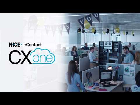 NICE inContact CXone - Say goodbye to your old infrastructure