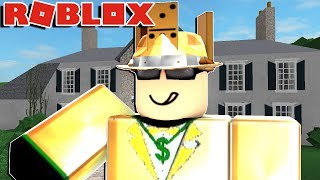 I ROBBED A MANSION ON ROBLOX!!! (rob a mansion obby)