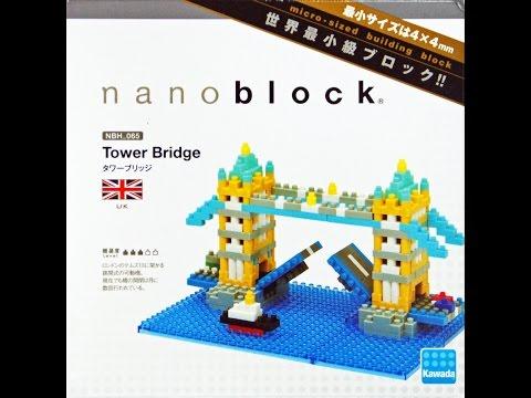 """Micro-Rakennuspalikka laskusilta NBH-065""""Tower Bridge"""" poikki Thames 01922+fi"""