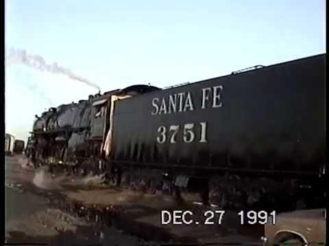 Santa Fe 3751 California Limited 99th Anniversary Speical