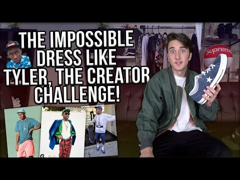 DRESS LIKE TYLER THE CREATOR CHALLENGE! (COULD I DO IT?!)
