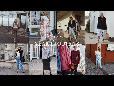 A YEAR IN OUTFITS 2017 | PETITE SIDE OF STYLE