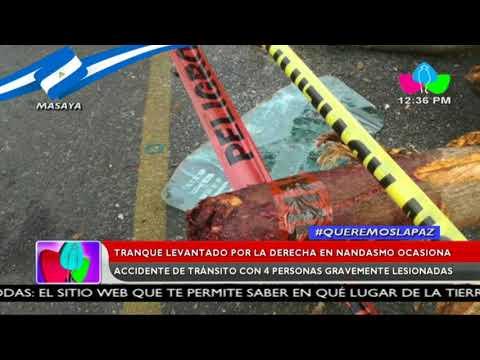 Tranques de la derecha en las carreteras del país impiden la libre circulación de los nicaragüenses