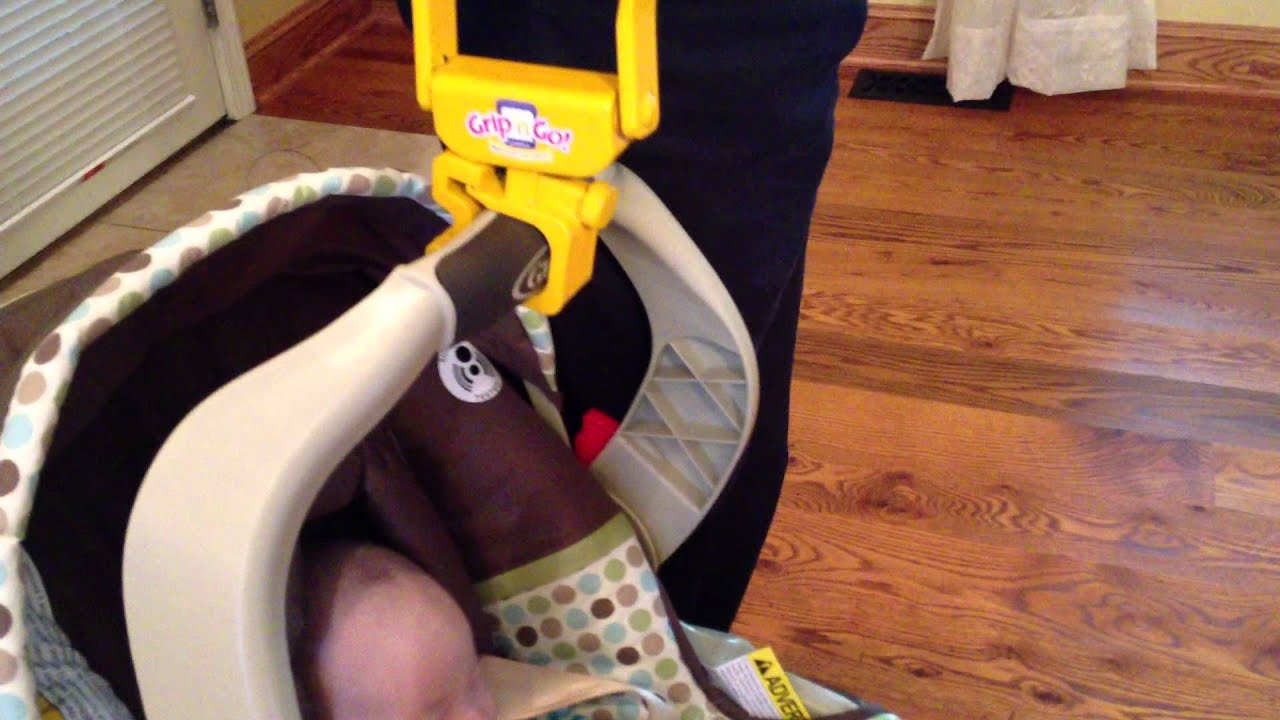 Grip N Go Infant Seat Handle Youtube