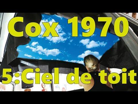 1970 VW Bug Rebuild - roof sky !