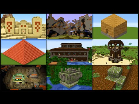 Minecraft - All Structures