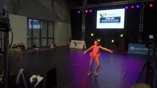 Milena Zdzuj Jazz Solo 2019 Choreography: Katarzyna Kuta.