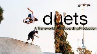 Duets: A Transworld Skateboarding Production - Official Teaser - Tiago Lemos, Carolos Ribeiro