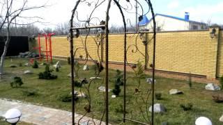 Красивая садовая арка, пергола арочной формы над дорожкой в саду ,дома ,на даче(, 2016-09-22T11:04:05.000Z)